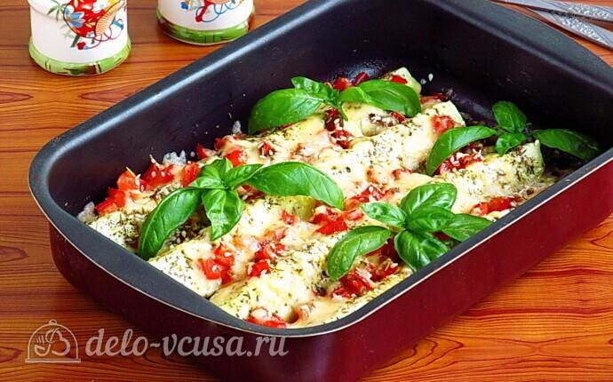 Рецепт кабачки с сыром и прованскими травами