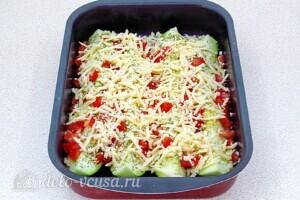 Кабачки с сыром и прованскими травами: фото к шагу 7.