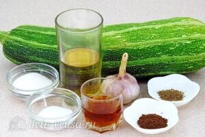 Кабачки в пряном соусе за 7 часов: Ингредиенты