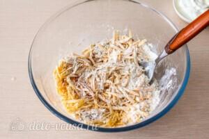 Пирог с кабачками и сыром: фото к шагу 2.