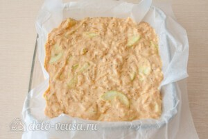 Пирог с кабачками и сыром: фото к шагу 6.