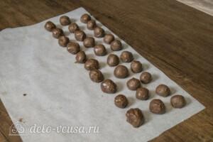 Домашние трюфели с ликером Бейлис: фото к шагу 6.