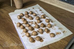 Домашние трюфели с ликером Бейлис: фото к шагу 9.