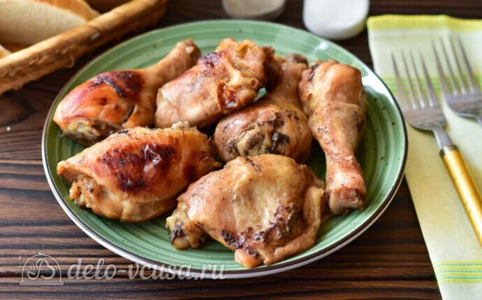 Курица в рукаве в медово-соевом соусе: фото блюда приготовленного по данному рецепту