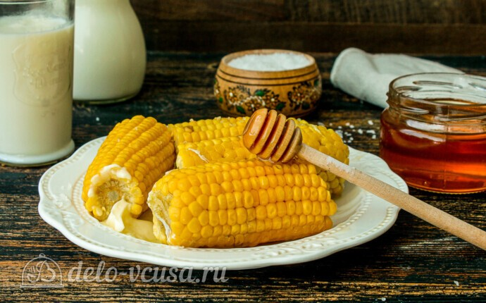Медовая кукуруза в молоке