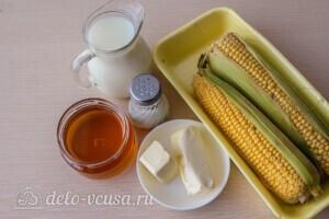 Медовая кукуруза в молоке: Ингредиенты