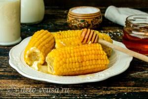 Медовая кукуруза в молоке: фото к шагу 5