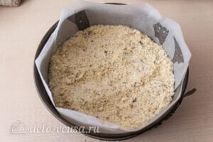 Абрикосовый насыпной пирог с творогом: фото к шагу 6.