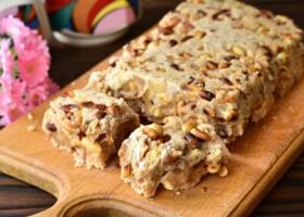 Рецепт домашний щербет с арахисом
