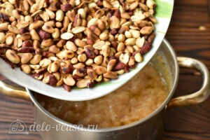Домашний щербет с арахисом: фото к шагу 6