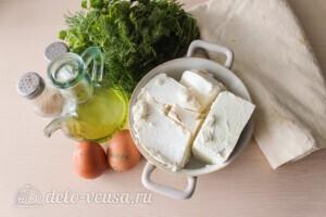 Сигара бёрек (Sigara börek) из лаваша: Ингредиенты
