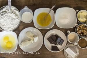 Синнабон с шоколадом и орехами: Ингредиенты