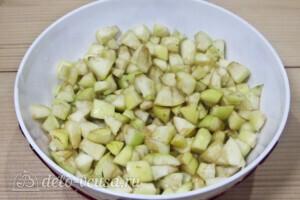 Слойки с яблоками за 30 минут: фото к шагу 1.