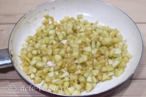 Слойки с яблоками за 30 минут: фото к шагу 3.