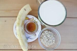 Смузи с овсянкой и бананом за 5 минут: Ингредиенты