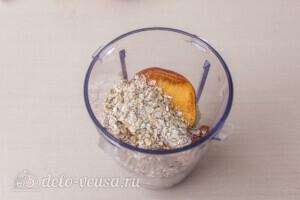 Овсяный смузи с вишней и фруктами: фото к шагу 5.
