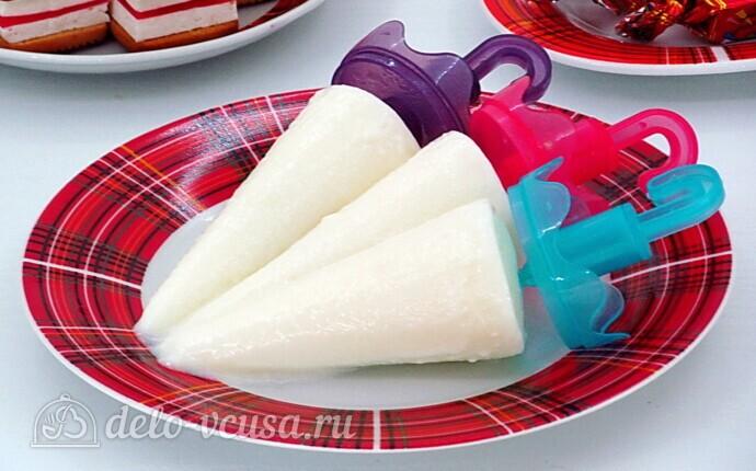 Ванильное мороженое из молока