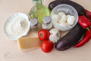 """Баклажаны """"Пармиджано"""": Ингредиенты"""
