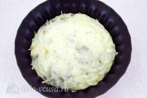 Омлет с баклажанами и сыром: фото к шагу 9.