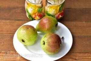 Густое грушевое варенье на зиму: Ингредиенты