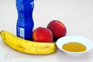 Йогуртовый смузи с персиком и бананом: Ингредиенты