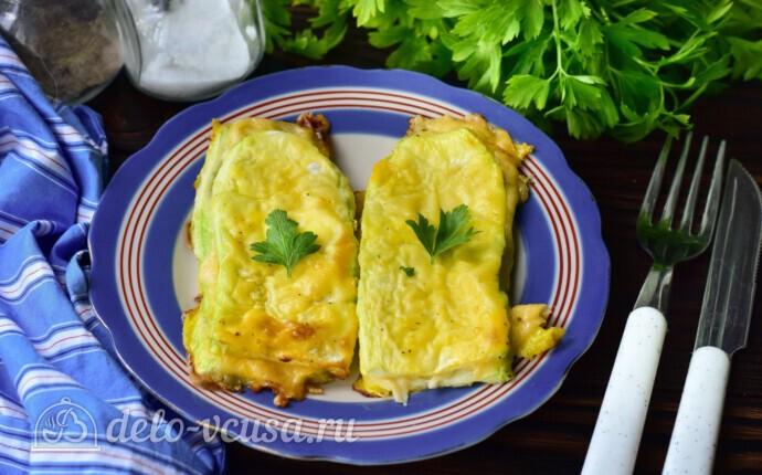 Кабачки с сыром в духовке за 20 минут