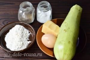 Кабачки с сыром в духовке за 20 минут: Ингредиенты