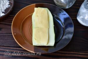 Кабачки с сыром в духовке за 20 минут: фото к шагу 4.