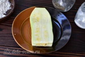 Кабачки с сыром в духовке за 20 минут: фото к шагу 5.
