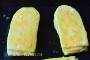 Кабачки с сыром в духовке за 20 минут: фото к шагу 7.