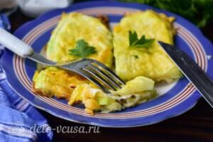 Кабачки с сыром в духовке за 20 минут: фото к шагу 8.