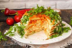 Кабачковый торт с морковью: фото к шагу 13