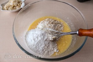 Йогуртовый кекс с малиной и голубикой: фото к шагу 4.