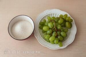 Компот из винограда с лимоном на зиму: Ингредиенты