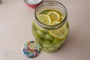 Компот из винограда с лимоном на зиму: фото к шагу 2.