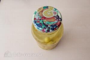 Компот из винограда с лимоном на зиму: фото к шагу 4.