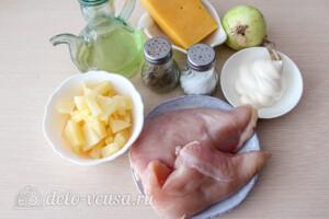 Куриные отбивные с ананасом: Ингредиенты