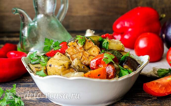 Летние овощи в духовке