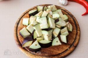 Летние овощи в духовке: фото к шагу 4.