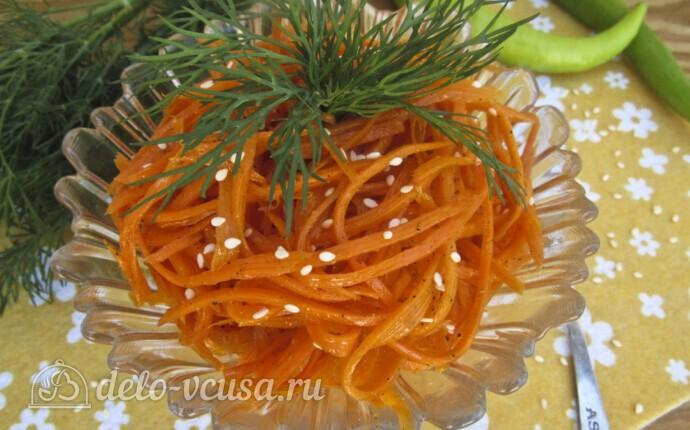 Морковь по-корейски за 4 часа