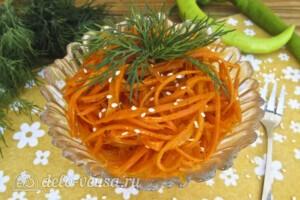 Морковь по-корейски за 4 часа: фото к шагу 6.