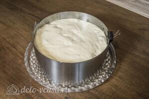 Муссовый торт с абрикосами: фото к шагу 9.