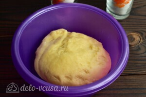 """Печенье """"Хризантемы"""" через мясорубку: фото к шагу 5."""