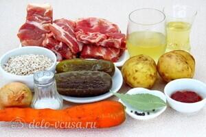 Рассольник по-питерски: Ингредиенты
