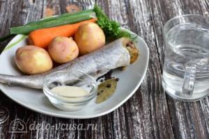 Суп с рыбными фрикадельками из минтая: Ингредиенты