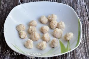 Суп с рыбными фрикадельками из минтая: фото к шагу 7.