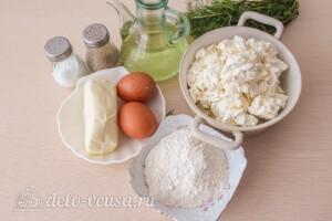 Сырники с сыром и зеленью: Ингредиенты