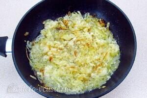 Томатно-луковый соус на зиму: фото к шагу 6.