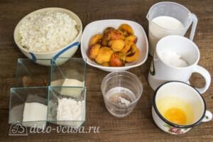 Творожный торт-суфле с абрикосами: Ингредиенты