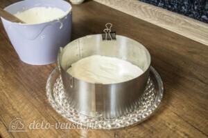 Творожный торт-суфле с абрикосами: фото к шагу 12